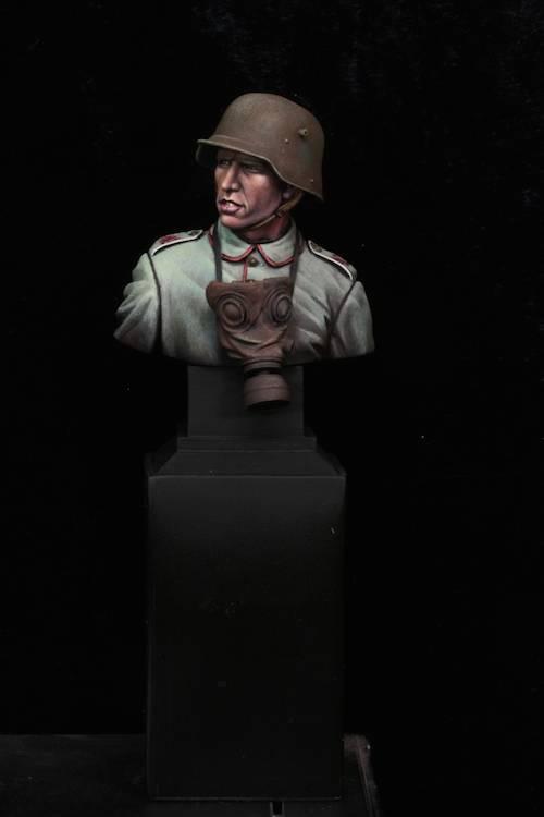 FINI - Buste Stormtrooper WW1 Etape26
