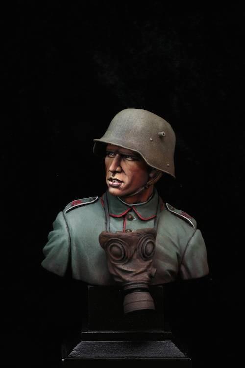 FINI - Buste Stormtrooper WW1 Etape27