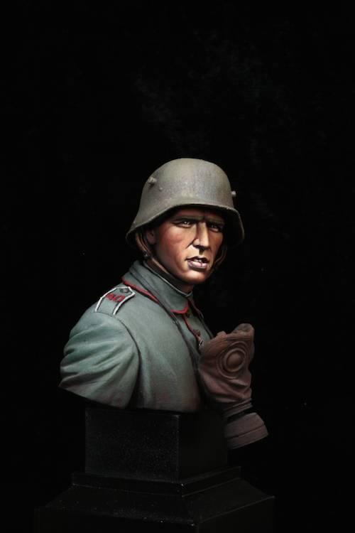 FINI - Buste Stormtrooper WW1 Etape28