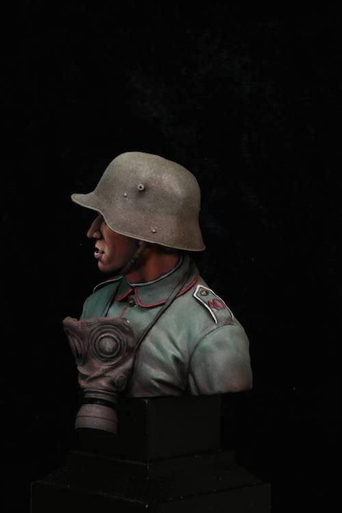 FINI - Buste Stormtrooper WW1 Etape29