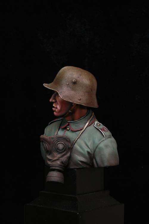 FINI - Buste Stormtrooper WW1 Etape36