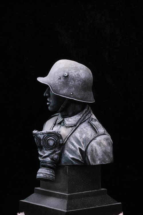 FINI - Buste Stormtrooper WW1 Etape5