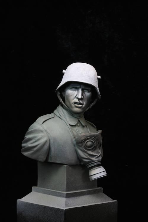 FINI - Buste Stormtrooper WW1 Etape7