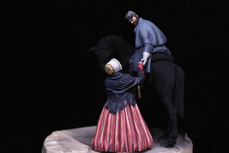 Stonewall Jackson, les adieux à sa femme.  FINI Etape17