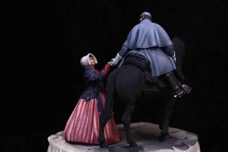 Stonewall Jackson, les adieux à sa femme.  FINI Etape18