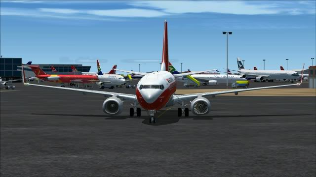TAAG B737 D2-TBK Delivery Flight Fs92011-12-2511-01-10-23