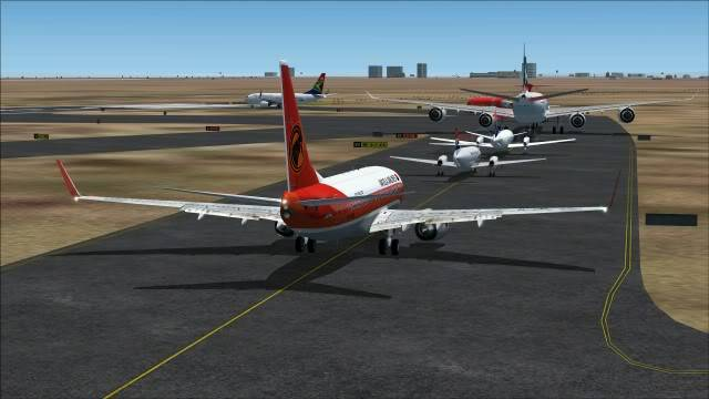 TAAG B737 D2-TBK Delivery Flight Fs92011-12-2511-07-12-91