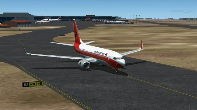 TAAG B737 D2-TBK Delivery Flight Fs92011-12-2511-07-22-50