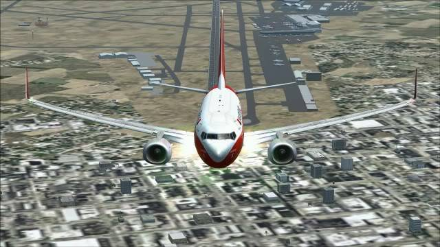 TAAG B737 D2-TBK Delivery Flight Fs92011-12-2511-19-23-09