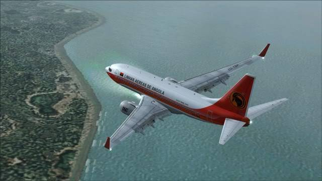TAAG B737 D2-TBK Delivery Flight Fs92011-12-2515-40-04-10