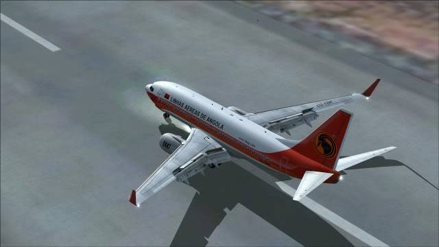 TAAG B737 D2-TBK Delivery Flight Fs92011-12-2515-44-43-64