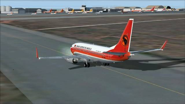 TAAG B737 D2-TBK Delivery Flight Fs92011-12-2515-49-36-94