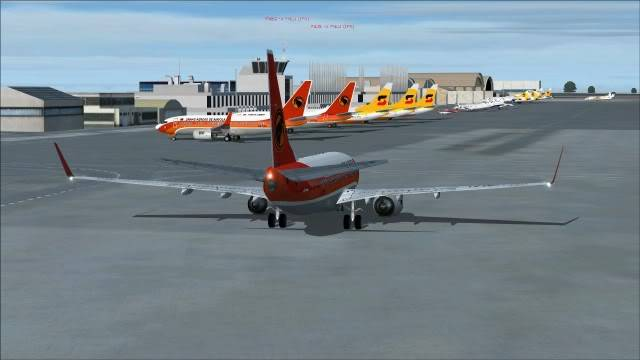 TAAG B737 D2-TBK Delivery Flight Fs92011-12-2515-51-18-46