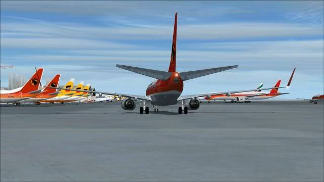 TAAG B737 D2-TBK Delivery Flight Fs92011-12-2515-51-26-11