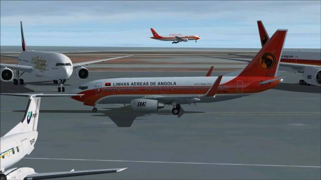 TAAG B737 D2-TBK Delivery Flight Fs92011-12-2515-52-52-95