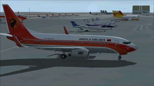 TAAG B737 D2-TBK Delivery Flight Fs92011-12-2515-55-50-11