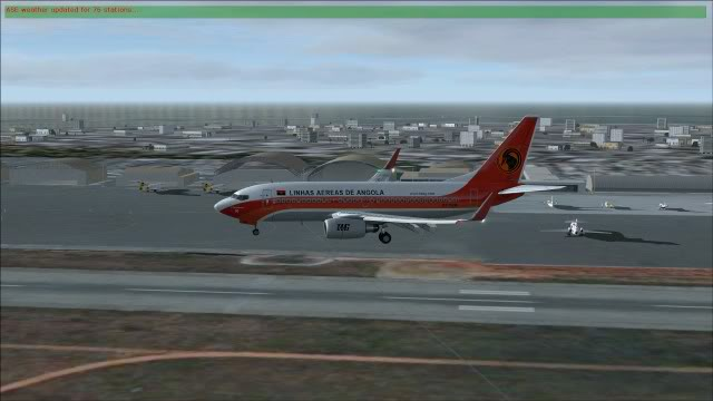 TAAG B737 D2-TBK Delivery Flight Fs92011-12-2516-32-09-51