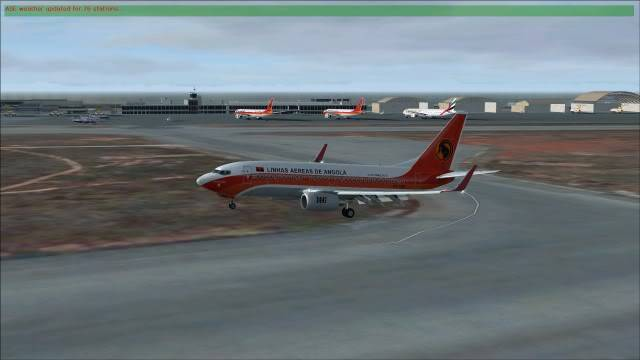TAAG B737 D2-TBK Delivery Flight Fs92011-12-2516-32-21-60