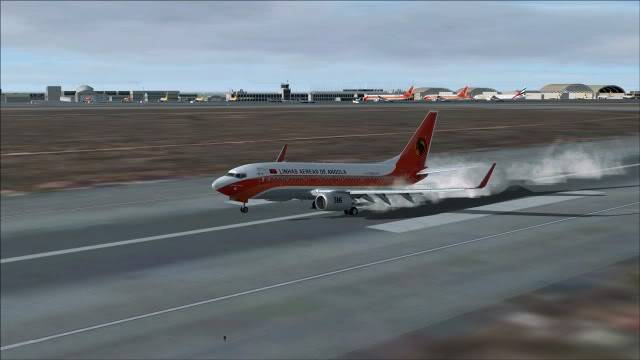 TAAG B737 D2-TBK Delivery Flight Fs92011-12-2516-32-29-80