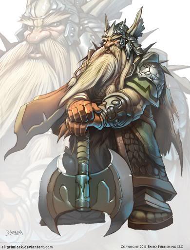 Razas: Enanos Dwarf_king_by_el_grimlock-d3e2iep