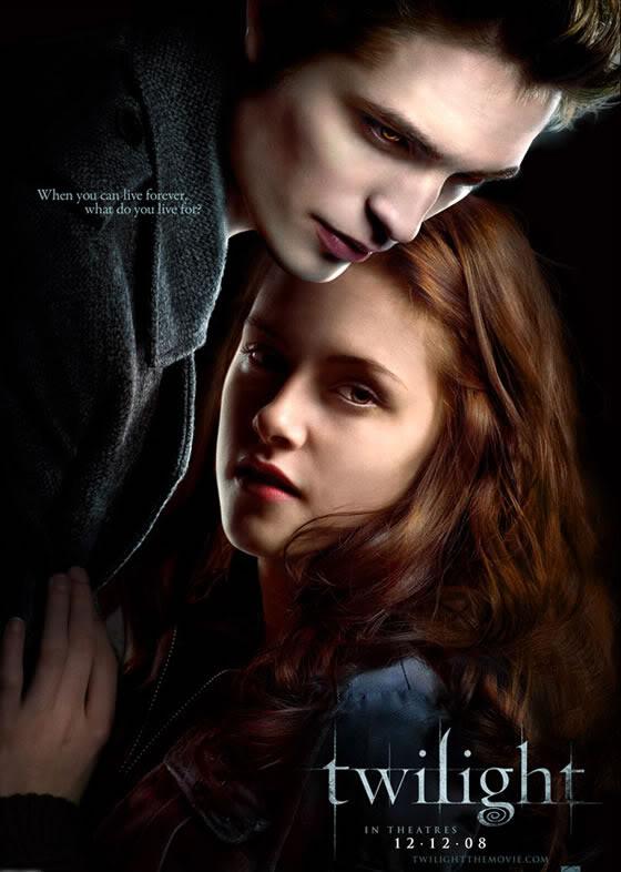 حصريا سلسلة افلام الاكشن والرومانسية Twilight مترجمة بجودة BRRip وعلى اكثر من سرفر  Twilight-poster1