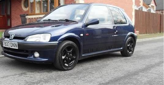 Nice China blue GTi (Swansea) 106gti5