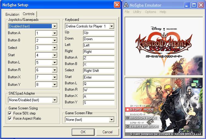 เล่นเกมจาก DS ใน PC ด้วย Emulator : NO$GBA Controls