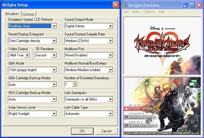 เล่นเกมจาก DS ใน PC ด้วย Emulator : NO$GBA Emulation