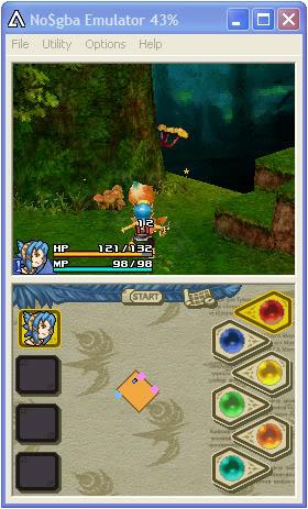 เล่นเกมจาก DS ใน PC ด้วย Emulator : NO$GBA Firmware
