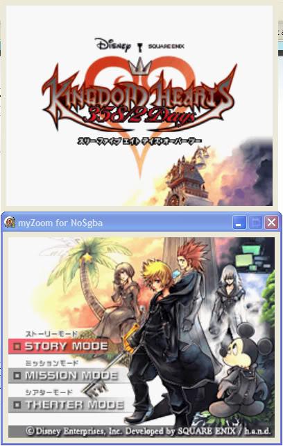 เล่นเกมจาก DS ใน PC ด้วย Emulator : NO$GBA MyZoom