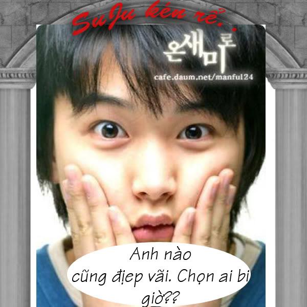 [fic hình] Super Junior kén rể[fun fic](hihi) 19
