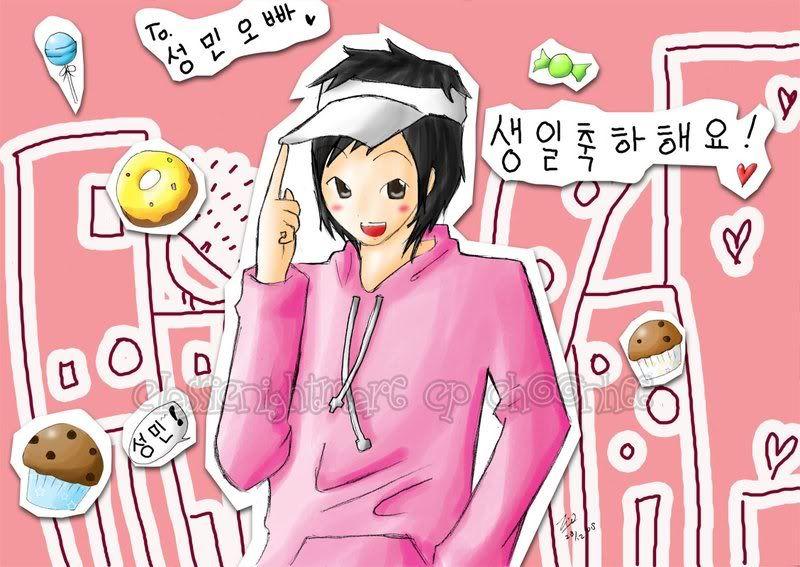 Min iuiu...Kyu manly..so kute love...and Kyumin ___Sungmin_Bday____by_CLassicNightm