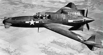 PROYECTOS INCONCLUSOS DE LA AERONÁUTICA ALEMANA DE LA S.G.M. - Página 2 CurtissXP-55Ascender