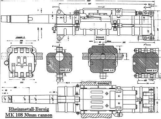 PROYECTOS INCONCLUSOS DE LA AERONÁUTICA ALEMANA DE LA S.G.M. - Página 2 Esquema_canon_MK_108_30mm