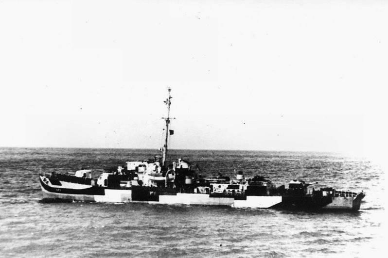 FOTOGRAFÍAS Y FICHAS QUE INTEGRAN LA HISTORIA. - Página 11 USS%20Dufilho%20DE-423