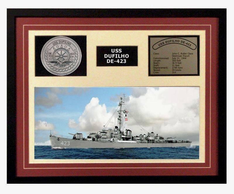 FOTOGRAFÍAS Y FICHAS QUE INTEGRAN LA HISTORIA. - Página 11 USS%20Dufilho%20DE-423_siete
