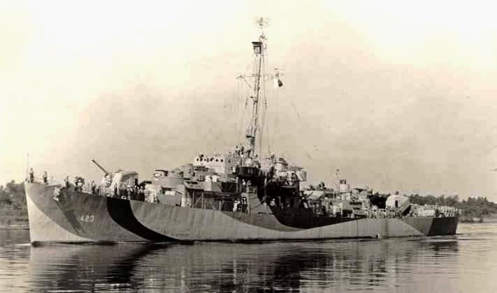 FOTOGRAFÍAS Y FICHAS QUE INTEGRAN LA HISTORIA. - Página 11 USS%20Dufilho%20DE-423_uno