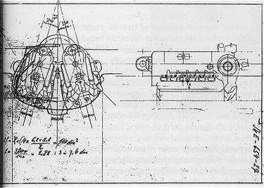 PROYECTOS INCONCLUSOS DE LA AERONÁUTICA ALEMANA DE LA S.G.M. - Página 9 Arado_ar_e_654_esquema_motores
