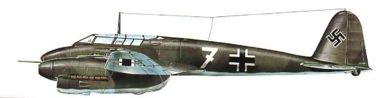PROYECTOS INCONCLUSOS DE LA AERONÁUTICA ALEMANA DE LA S.G.M. - Página 9 Focke_wulf_fw_187_picture_ocho