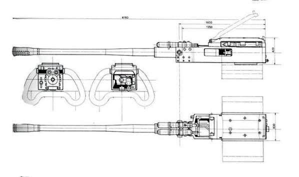 PROYECTOS INCONCLUSOS DE LA AERONÁUTICA ALEMANA DE LA S.G.M. Canon_Mauser_MK_214_50_mm