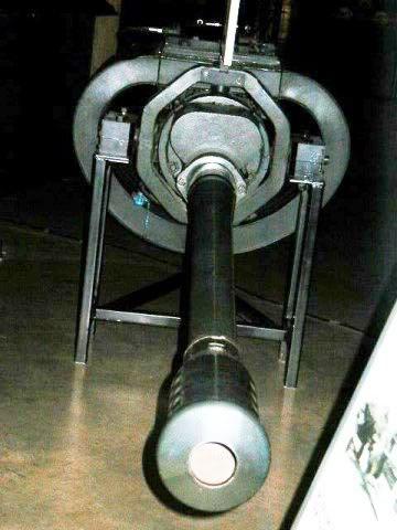 PROYECTOS INCONCLUSOS DE LA AERONÁUTICA ALEMANA DE LA S.G.M. Canon_Mauser_MK_214_50_mm_uno