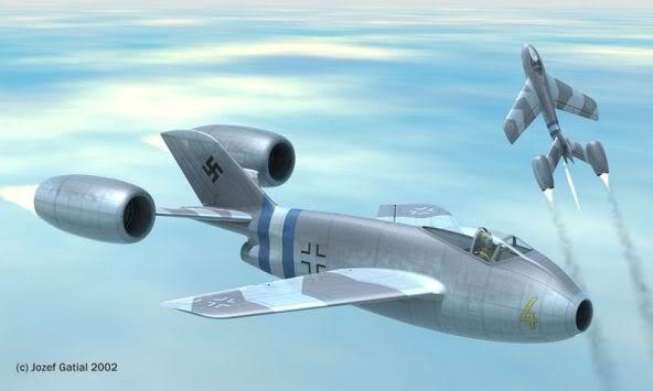 PROYECTOS INCONCLUSOS DE LA AERONÁUTICA ALEMANA DE LA S.G.M. Focke_wulf_fw_super_lorin_uno