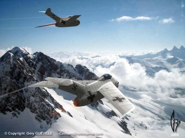 Copias descaradas de proyectos militares. Focke_wulf_fw_ta_183_cinco