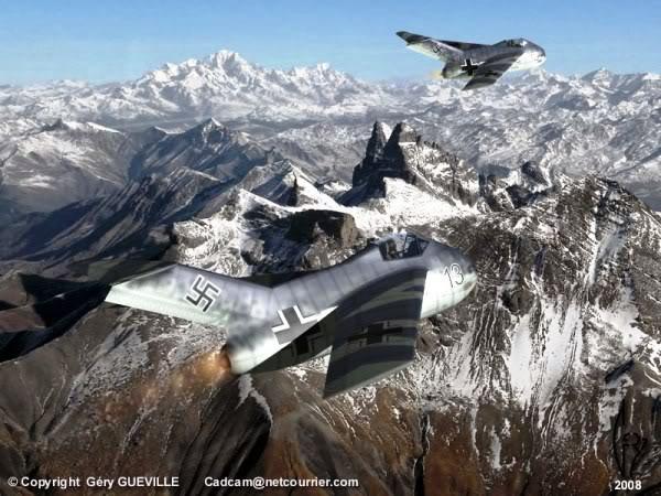 Copias descaradas de proyectos militares. Focke_wulf_fw_ta_183_cuatro