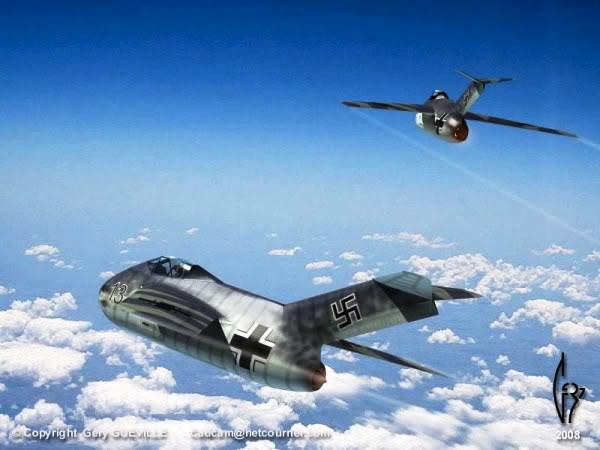 Copias descaradas de proyectos militares. Focke_wulf_fw_ta_183_diecinueve