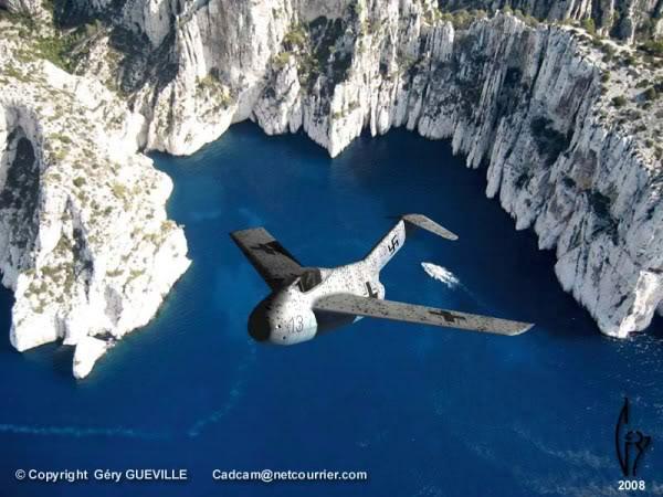 Copias descaradas de proyectos militares. Focke_wulf_fw_ta_183_dieciseis