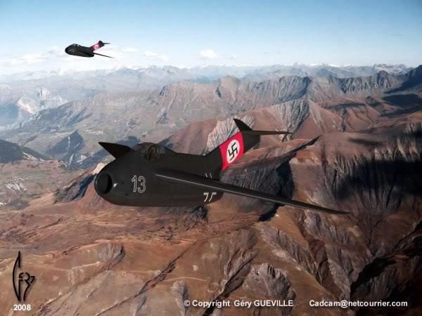 Copias descaradas de proyectos militares. Focke_wulf_fw_ta_183_diez