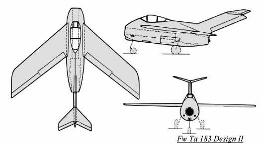 Copias descaradas de proyectos militares. Focke_wulf_fw_ta_183_diseno_II_dibu