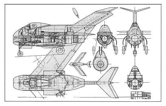 Copias descaradas de proyectos militares. Focke_wulf_fw_ta_183_diseno_II_t-1