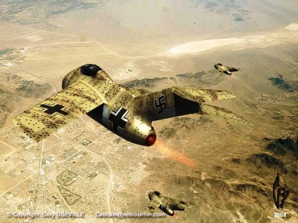 Copias descaradas de proyectos militares. Focke_wulf_fw_ta_183_doce